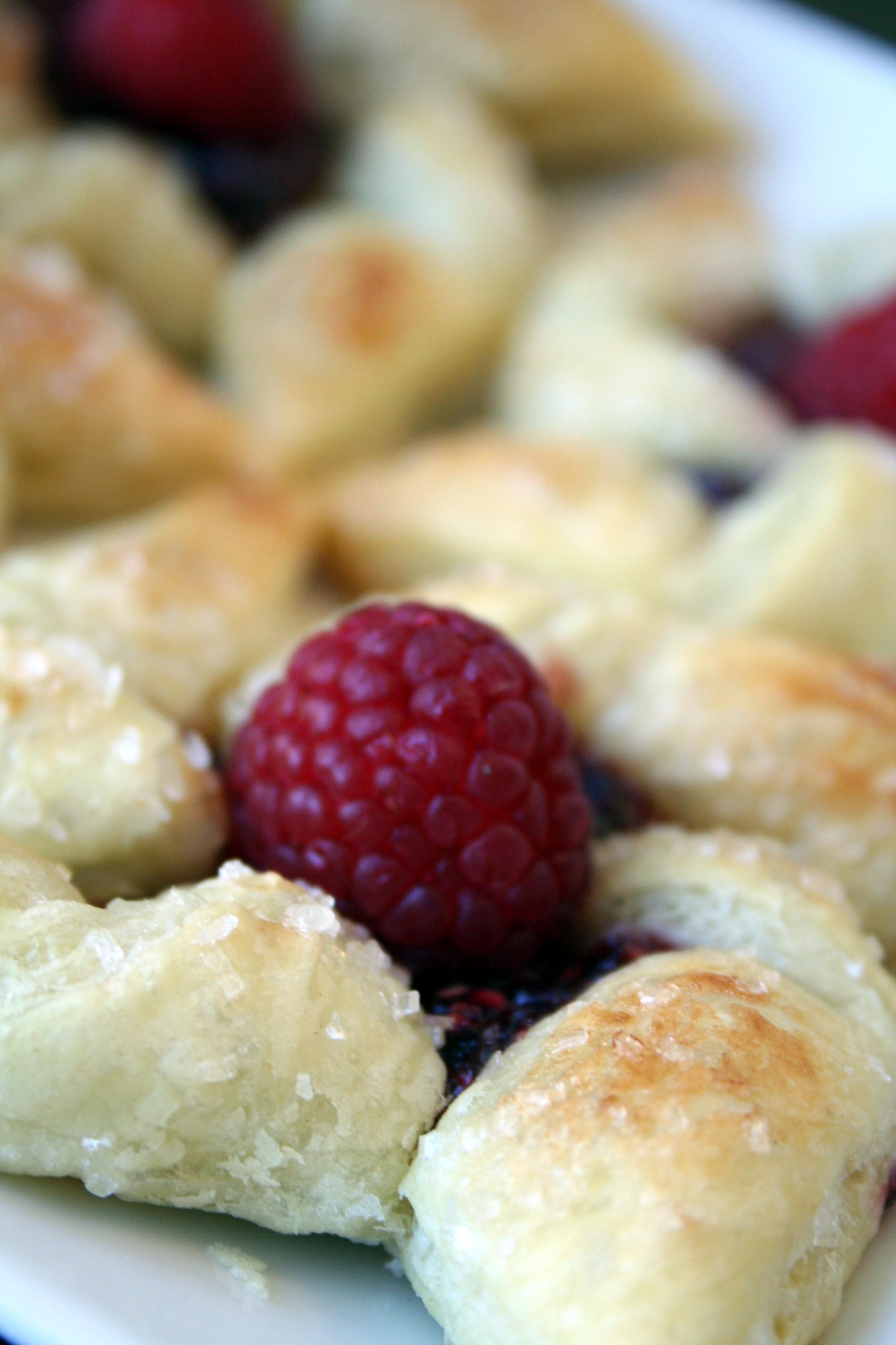 Raspberry Pinwheels Recipe