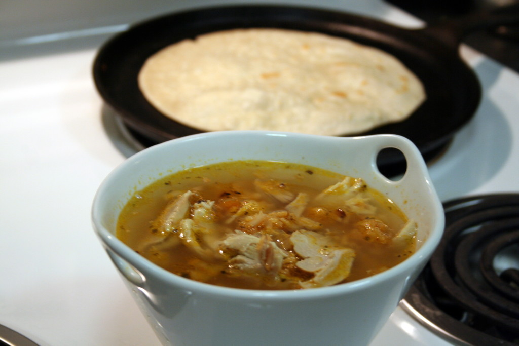 Arroz con Pollo soup